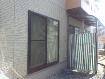広島県安芸郡・呉市・広島市 テラス囲い施工例