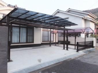 呉市安浦 M様邸 カーポート 施工例4
