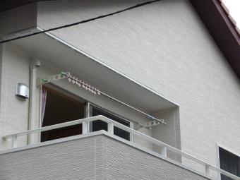 呉市焼山 O様邸 バルコニー屋根 施工例