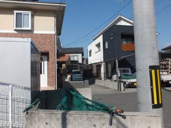 安芸郡坂町 ゴミ置き場屋根 施工例3