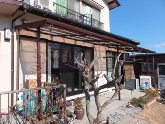 東広島市黒瀬町 Y様邸 サンルーム 施工例1