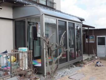 東広島市黒瀬町 Y様邸 サンルーム 施工例2