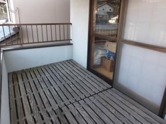 安芸郡坂町 F様邸 デッキ材 施工例1