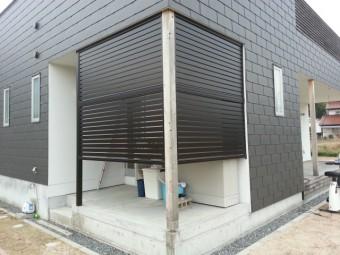 東広島市黒瀬町 M様邸 フェンス 施工例