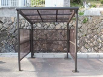 広島市安芸区中野東 N様邸 サイクルポート施工例2