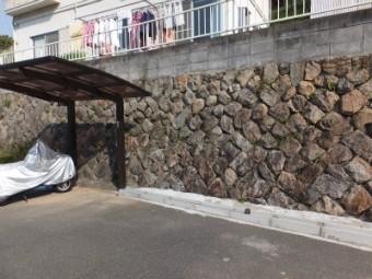広島市安芸区中野東 N様邸 サイクルポート施工例3