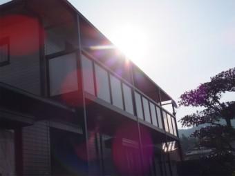 安芸郡熊野町 S様邸 バルコニー施工例2
