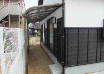 呉市 N様邸 テラス施工例2