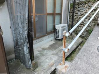 呉市広 Y様邸 ウッドデッキ施工例1
