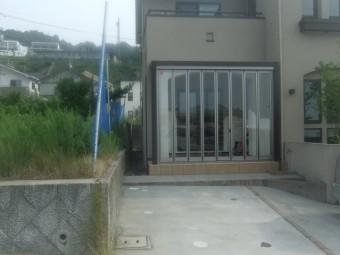 広島市西区古田台 S様邸 カーポート施工例3