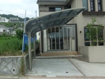 広島市西区古田台 S様邸 カーポート施工例4