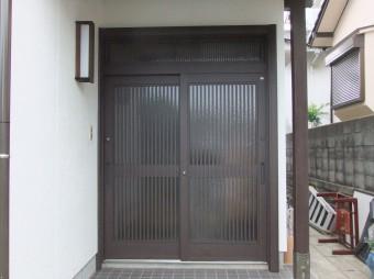 広島県呉市焼山 H様邸 玄関施工例2