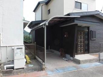 呉市焼山 A様邸 カーポート施工例2