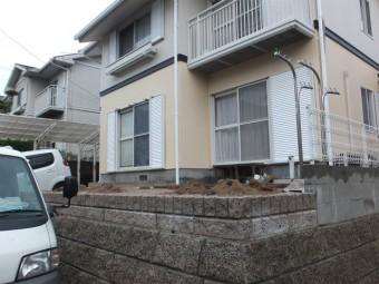 東広島市黒瀬町 S様邸 テラス・フェンス施工例