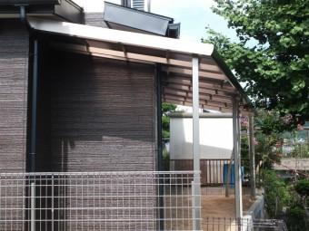 呉市焼山 A様邸 テラス・フェンス施工例4
