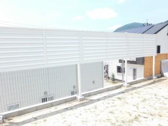 広島県東広島市 O様邸 フェンス施工例2