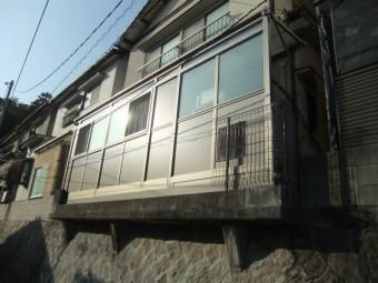 東区中山 M様邸 テラス囲い施工例