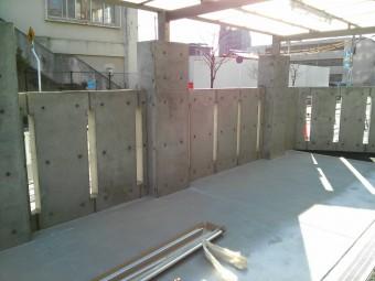 東区 Hマンション サイクルポート施工例1