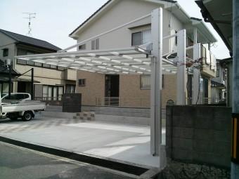 呉市焼山 K様邸 カーポート施工例3