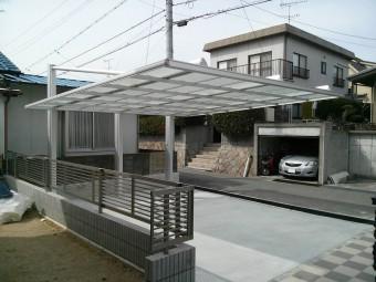 呉市焼山 K様邸 カーポート施工例4