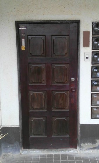 呉市焼山 K様邸 玄関 施工例1