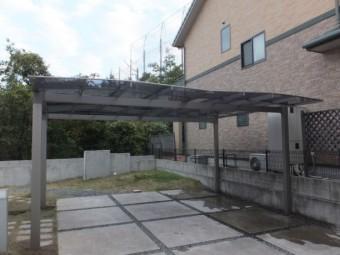 東広島市Y様邸 カーポート施工例2