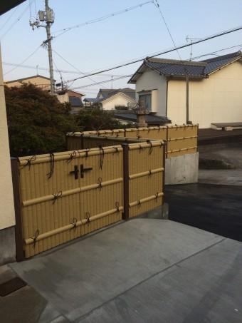 呉市 Y様邸 フェンス施工例2