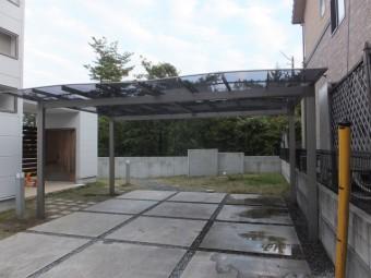 東広島市Y様邸 カーポート施工例4
