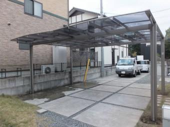 東広島市Y様邸 カーポート施工例5