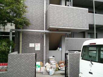 広島市安佐南区 Fマンション テラス施工例1