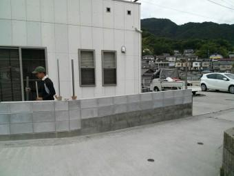 K様邸 テラス・フェンス施工例1