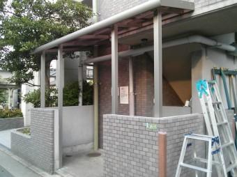 広島市安佐南区 Fマンション テラス施工例3