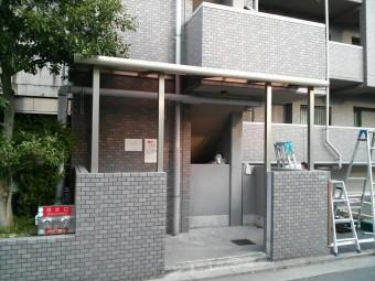 広島市安佐南区 Fマンション テラス施工例4