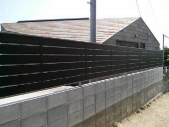 K様邸 テラス・フェンス施工例4