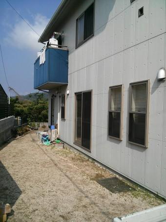 K様邸 テラス・フェンス施工例5
