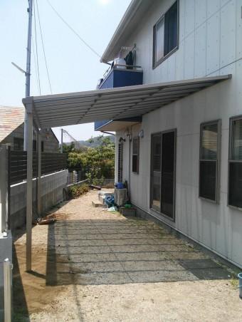 K様邸 テラス・フェンス施工例6