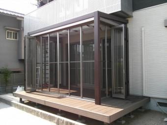 呉市 K様邸 ガーデンルーム・デッキ施工例4