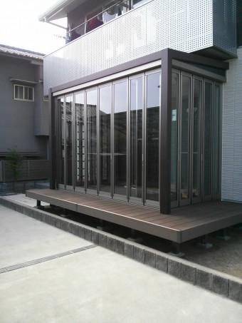 呉市 K様邸 ガーデンルーム・デッキ施工例6
