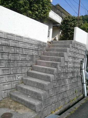 広島県呉市 S様邸 手すり施工例 1