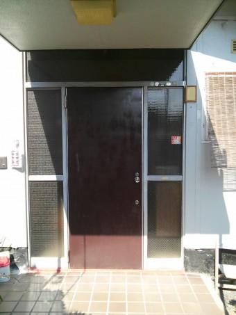 東広島市 K様邸 玄関施工例1