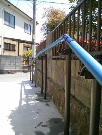 広島県呉市 O様邸 手すり施工例4