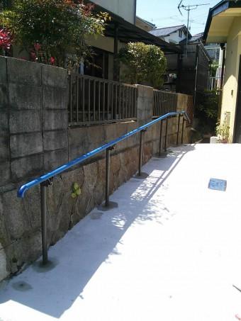 広島県呉市 O様邸 手すり施工例2