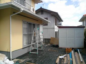 広島県東広島市 K様邸 デッキ&テラス 施工例