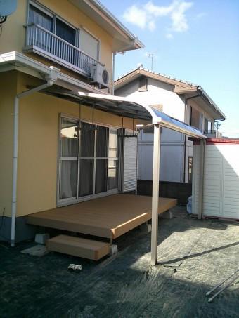 広島県東広島市 K様邸 テラス&デッキ 施工例