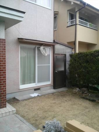 広島県東広島市 サンルーム施工例