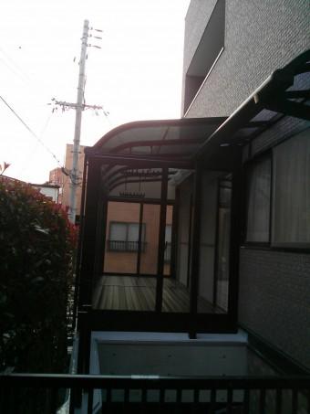 広島県呉市 サンルーム施工例