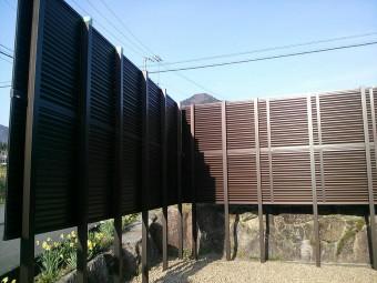 広島県広島市 フェンス施工例