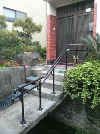 広島県呉市 手すり施工例