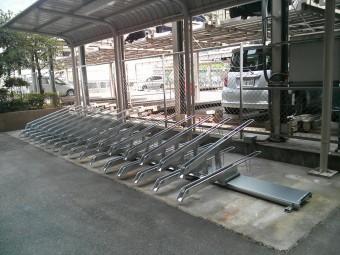 広島県呉市 自転車ラック施工例
