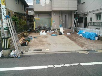 カーポート・門扉・フェンス 施工前